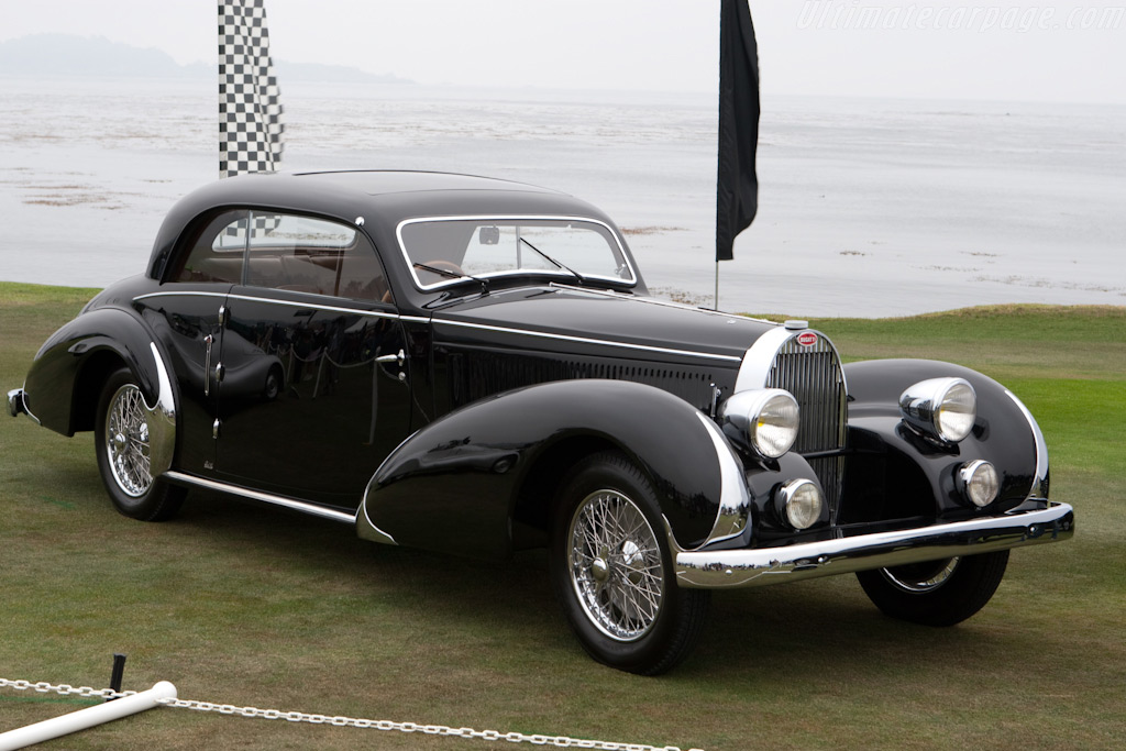 Bugatti Type 57 Paul Nee Pillarless Coupe - Chassis: 57397   - 2009 Pebble Beach Concours d'Elegance