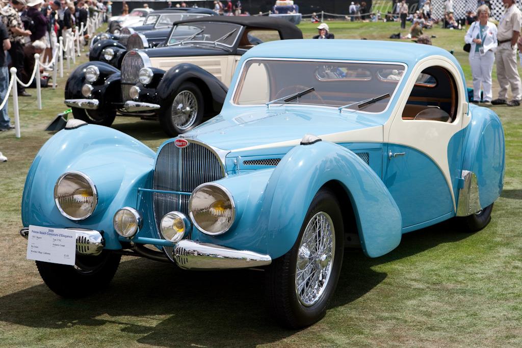 Bugatti Type 57 SC Atalante Coupe - Chassis: 57523   - 2009 Pebble Beach Concours d'Elegance