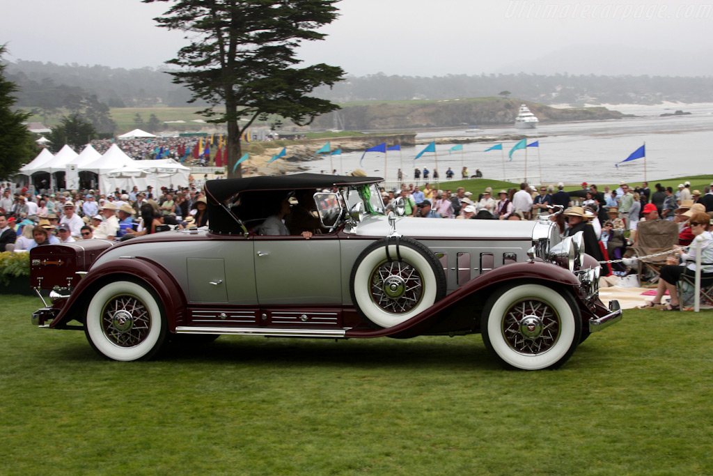 Cadillac V16 Fleetwood Roadster    - 2009 Pebble Beach Concours d'Elegance