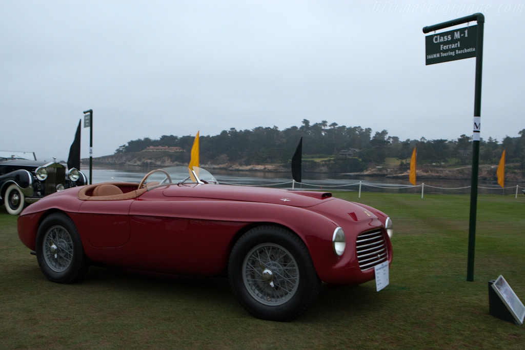 Ferrari 166 MM Barchetta - Chassis: 0002M   - 2009 Pebble Beach Concours d'Elegance