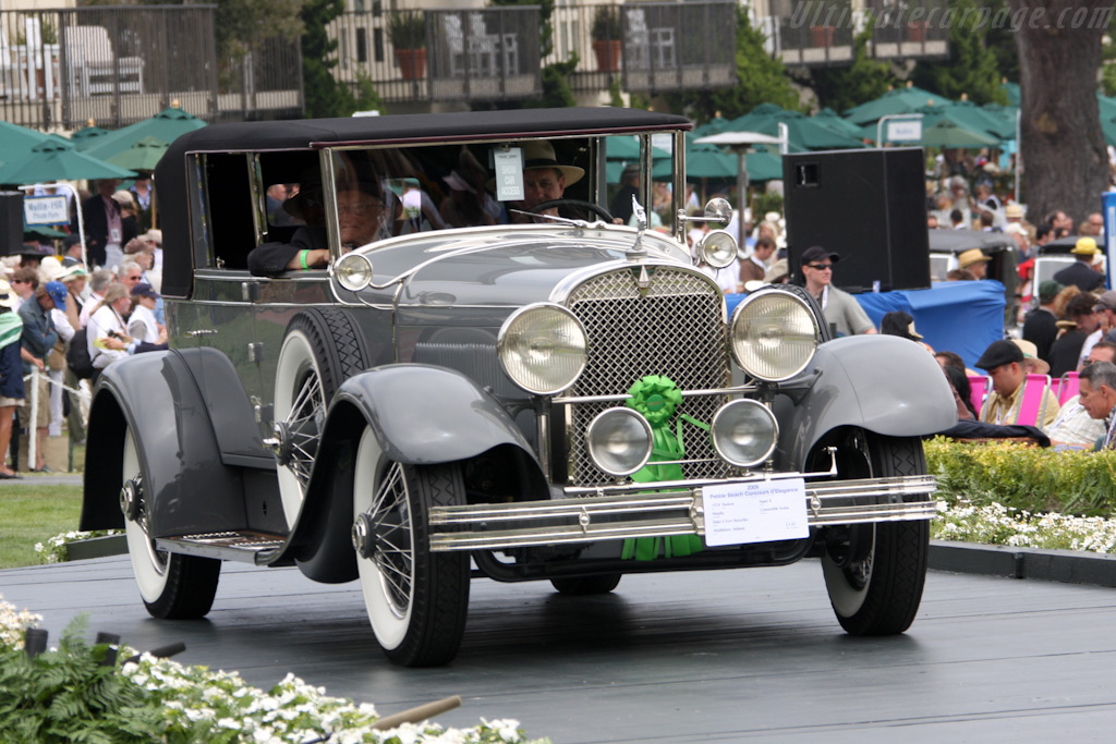 Hudson Super 6 Murphy Convertible Sedan    - 2009 Pebble Beach Concours d'Elegance