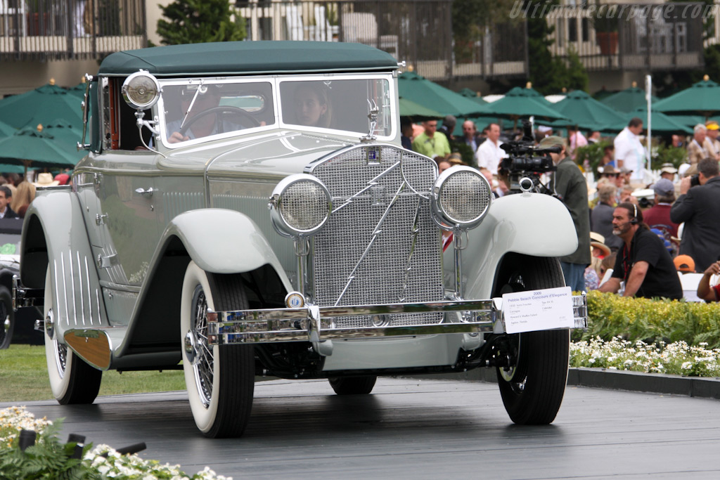 Isotta Fraschini Tipo 8A SS Castagna Cabriolet    - 2009 Pebble Beach Concours d'Elegance