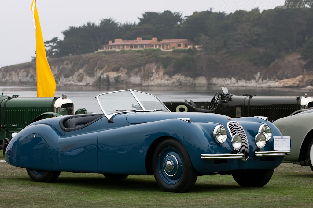 Jaguar XK120 Alloy Roadster    - 2009 Pebble Beach Concours d'Elegance