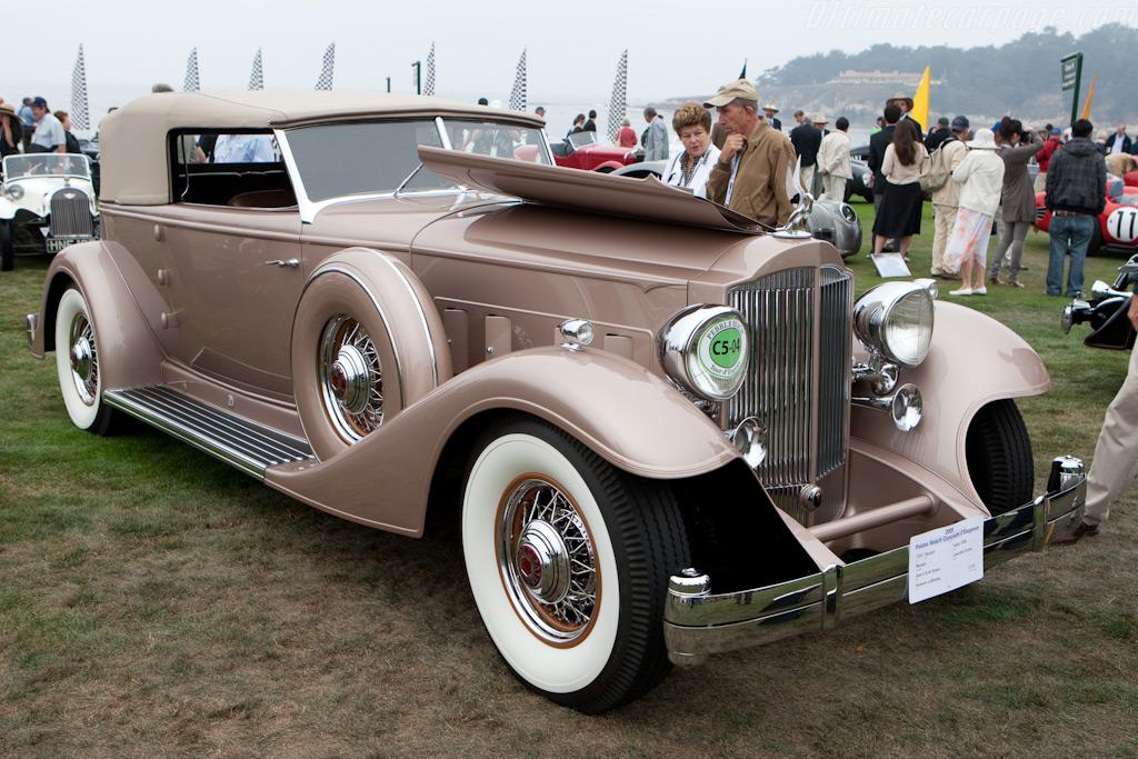 Packard Twelve 1006 Dietrich Convertible Victoria    - 2009 Pebble Beach Concours d'Elegance