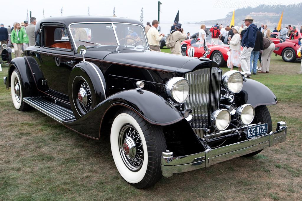 Packard Twelve 1006 Dietrich Coupe    - 2009 Pebble Beach Concours d'Elegance