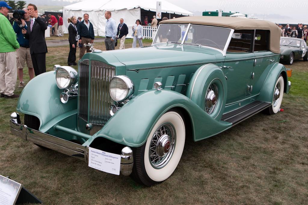 Packard Twelve 1008 Dietrich Convertible Sedan    - 2009 Pebble Beach Concours d'Elegance