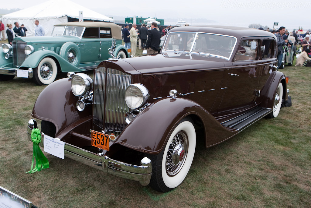 Packard Twelve 1008 Dietrich Sport Sedan    - 2009 Pebble Beach Concours d'Elegance