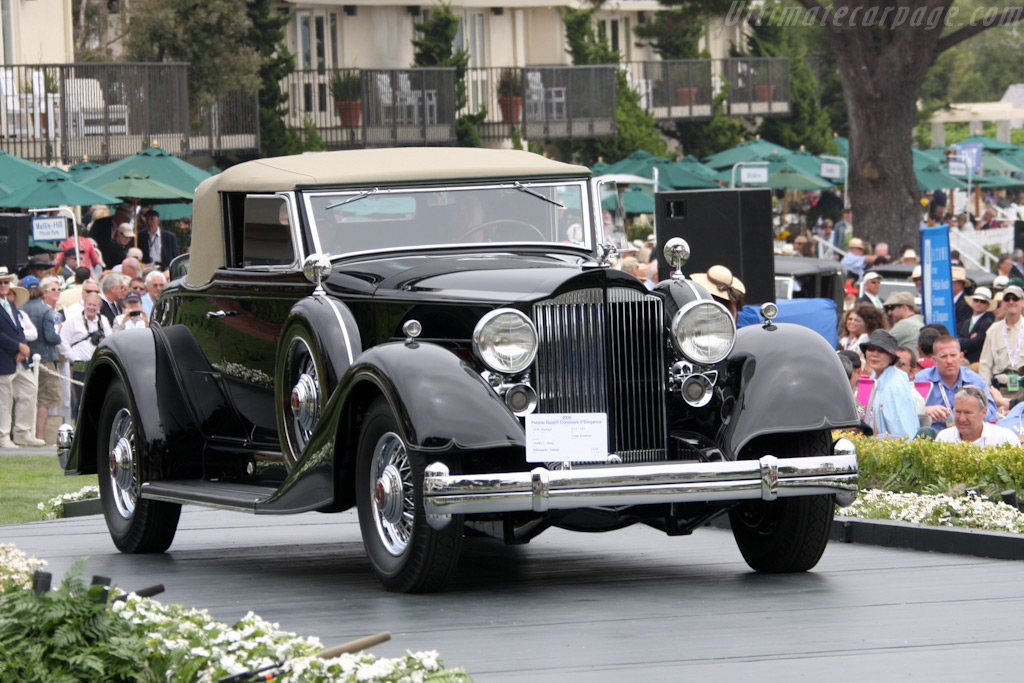 Packard V12 1107 Coupe Roadster    - 2009 Pebble Beach Concours d'Elegance