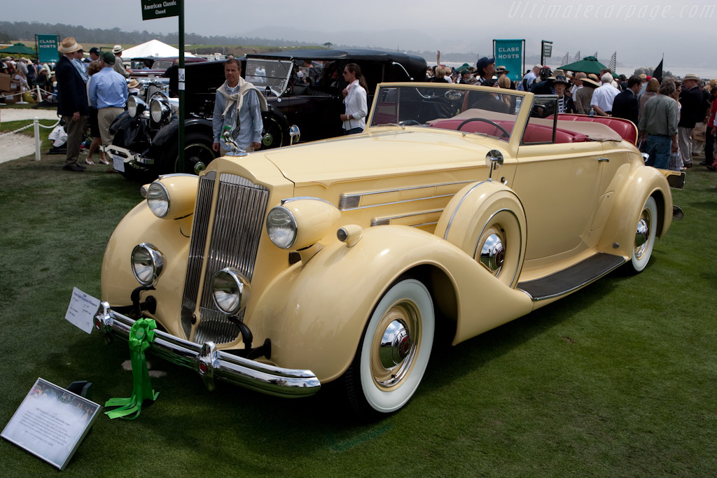 Packard V12 1507 Convertible Coupe    - 2009 Pebble Beach Concours d'Elegance