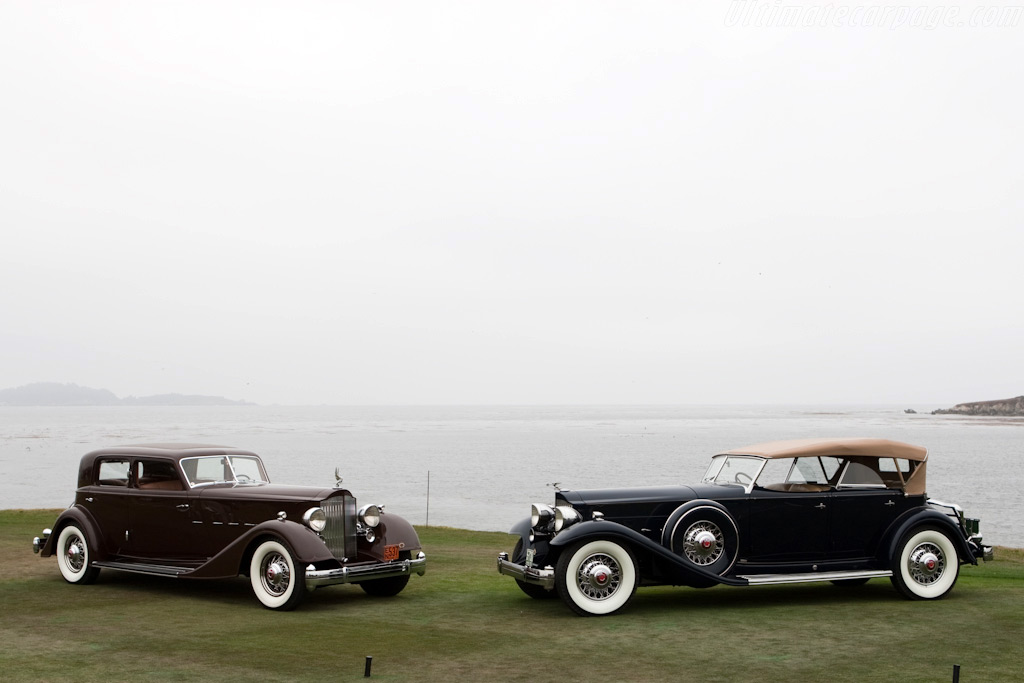Packard Vee-Windshield Dietrich    - 2009 Pebble Beach Concours d'Elegance