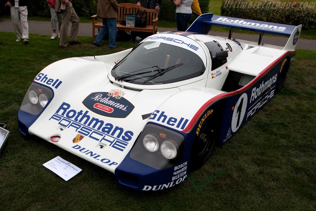 Porsche 962C - Chassis: 962-002   - 2009 Pebble Beach Concours d'Elegance