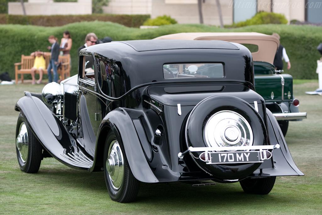 Rolls-Royce Phantom II Continental Gurney Nutting Fixed Head Coupe    - 2009 Pebble Beach Concours d'Elegance