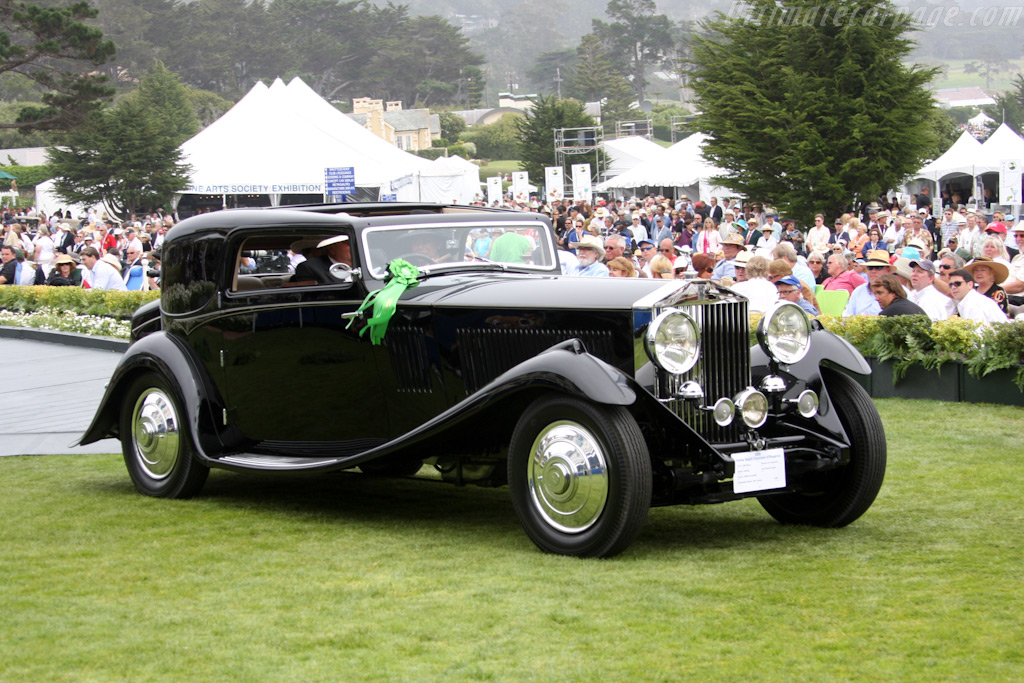 Rolls-Royce Phantom II Continental Gurney Nutting Fixed Head Coupe    - 2009 Pebble Beach Concours d'Elegance