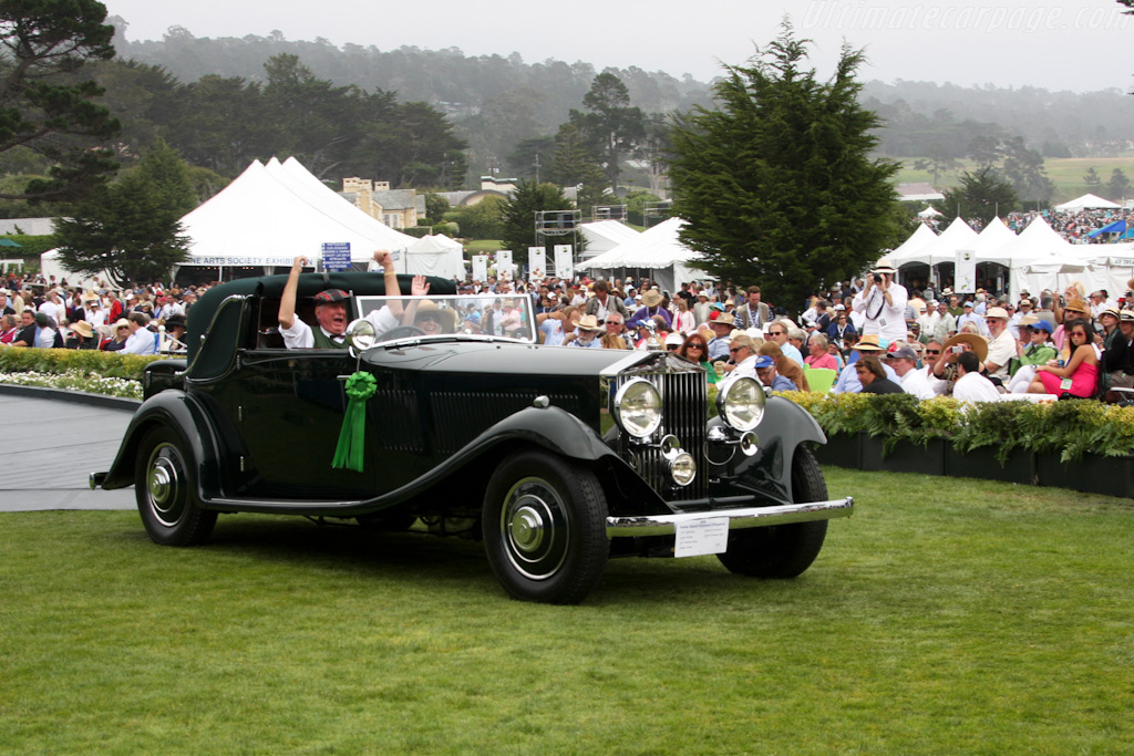 Rolls-Royce Phantom II Continental Gurney Nutting Sedanca Drophead Coupe    - 2009 Pebble Beach Concours d'Elegance