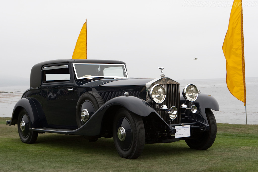 Rolls-Royce Phantom II Continental Hooper Sport Coupe    - 2009 Pebble Beach Concours d'Elegance