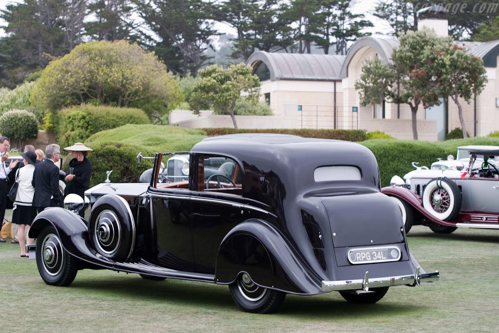 Rolls-Royce Phantom II Thrupp & Maberly Sedanca de Ville    - 2009 Pebble Beach Concours d'Elegance