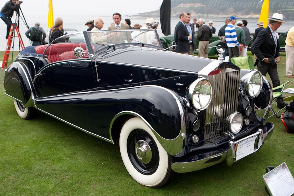 Rolls-Royce Silver Wraith Inskip Cabriolet    - 2009 Pebble Beach Concours d'Elegance
