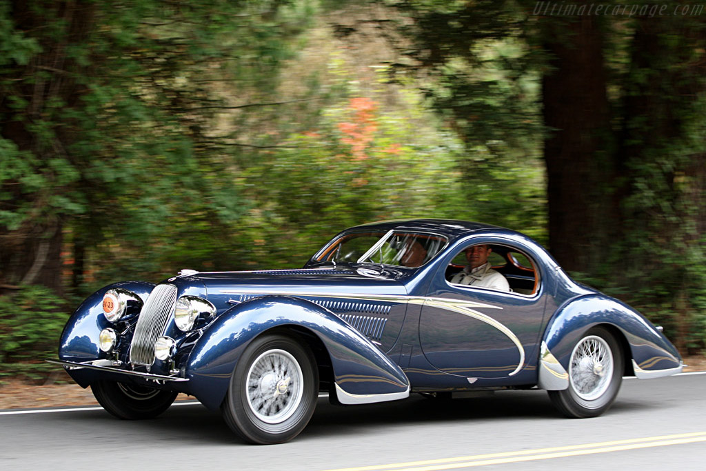 Talbot Lago T150 C Teardrop - Chassis: 90034   - 2007 Pebble Beach Concours d'Elegance