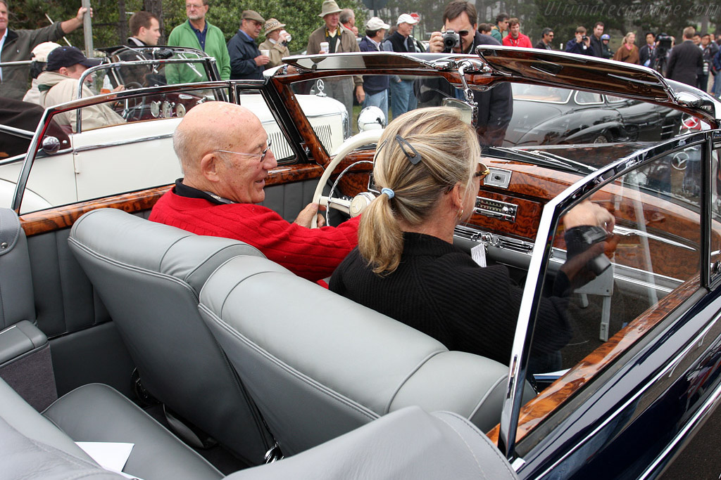 Sir Stirling and Lady Susie Moss    - 2008 Pebble Beach Concours d'Elegance
