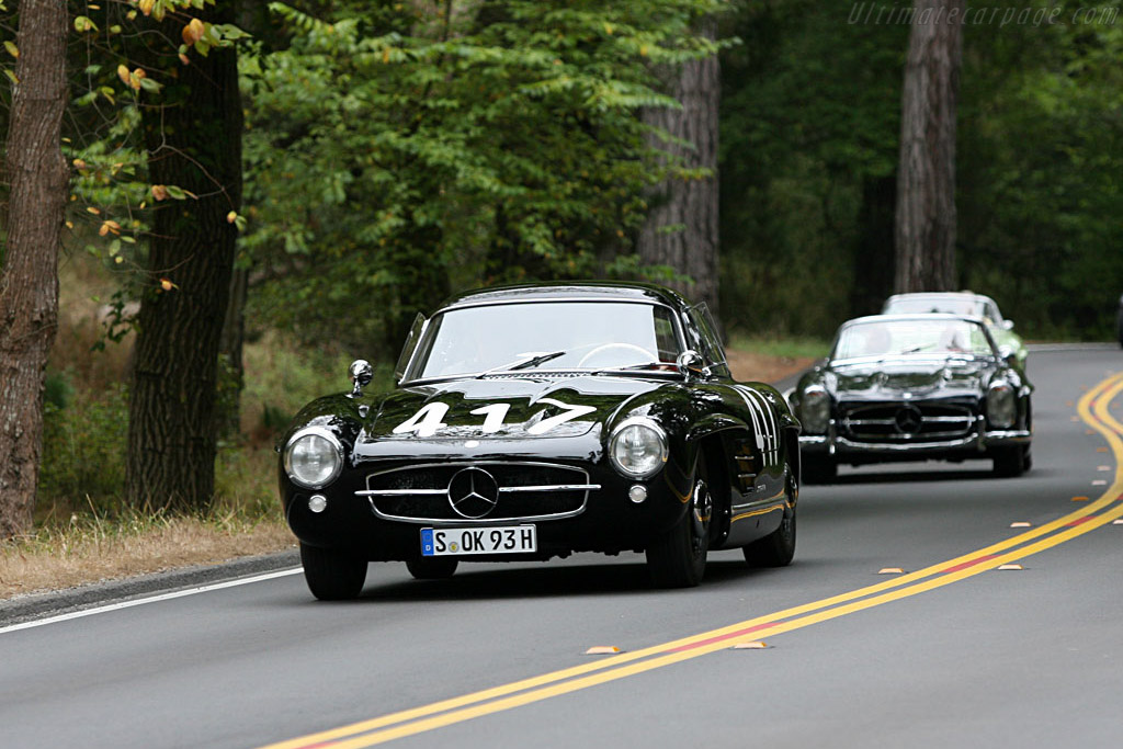 John Fitch followed by Stirling Moss    - 2006 Pebble Beach Concours d'Elegance