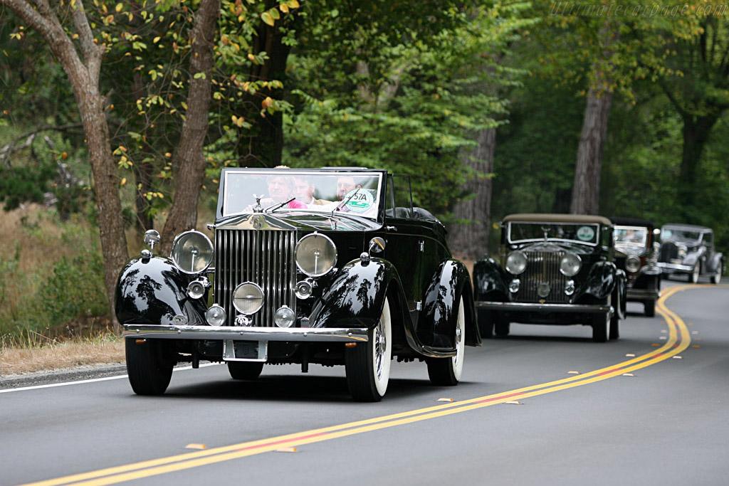 Rolls-Royce Phantom III Mazzara & Meyer Cabriolet    - 2006 Pebble Beach Concours d'Elegance