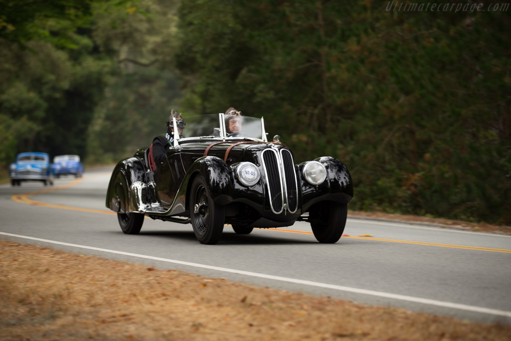 BMW 328 Roadster - Chassis: 85014 - Entrant: Lothar Schuetller  - 2016 Pebble Beach Concours d'Elegance