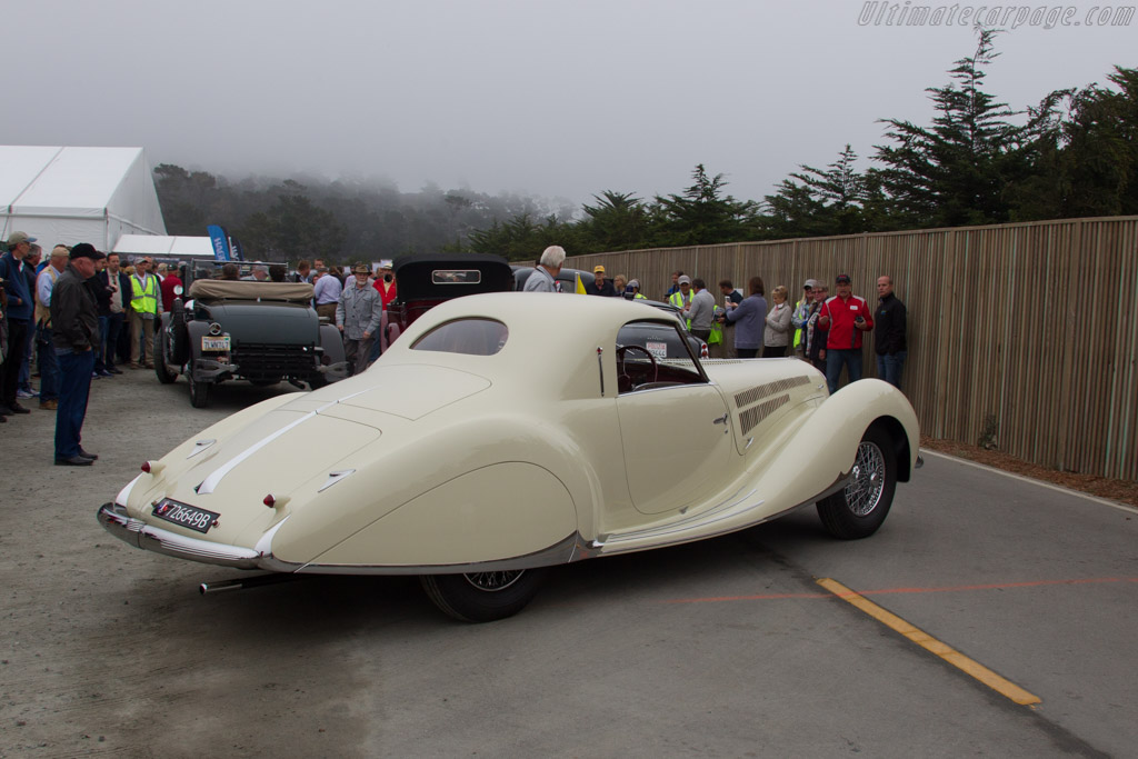Delahaye 135 MS Figoni & Falaschi Coupe - Chassis: 60112 - Entrant: Gregory V. Ornazian  - 2016 Pebble Beach Concours d'Elegance