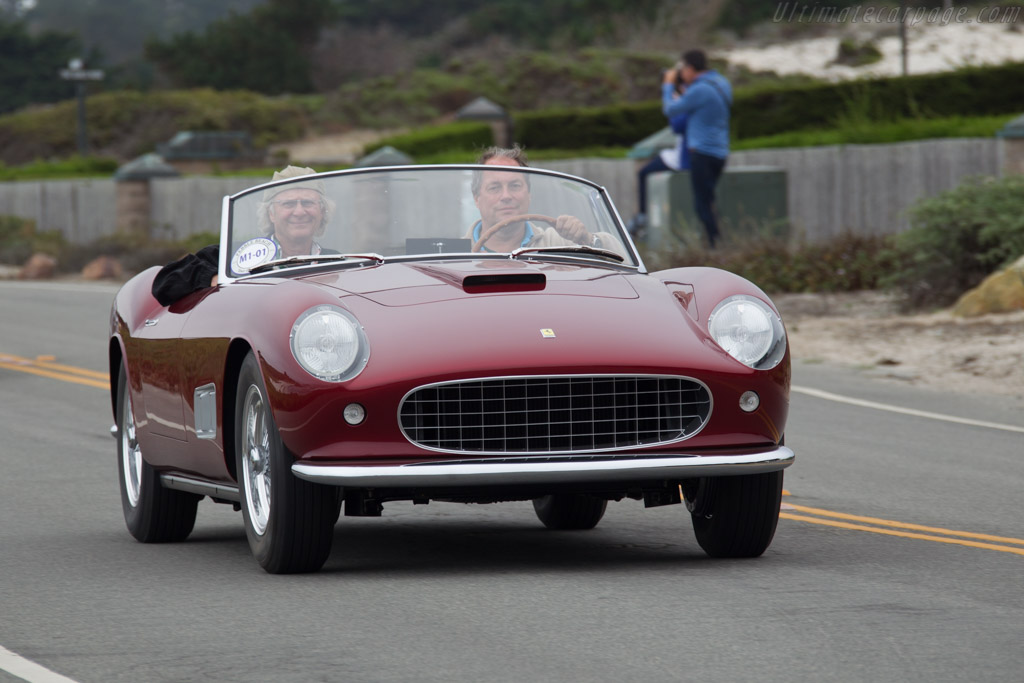 Ferrari 250 GT Scaglietti Spyder California Prototype - Chassis: 0769GT - Entrant: Mr. & Mrs. Robert Bishop  - 2016 Pebble Beach Concours d'Elegance