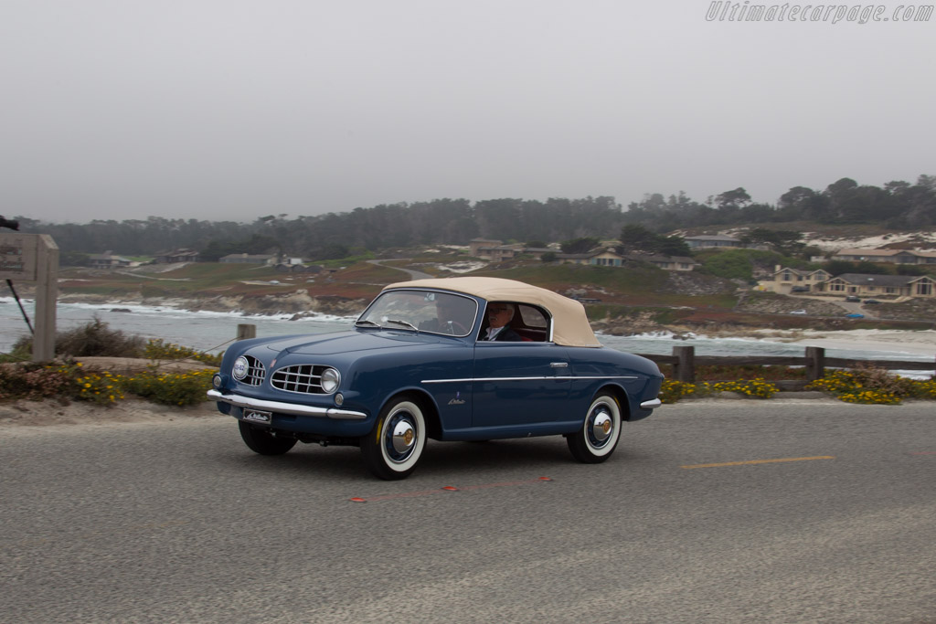 Fiat 1100 Allemano Cabriolet  - Entrant: William & Ann Scheffer  - 2016 Pebble Beach Concours d'Elegance