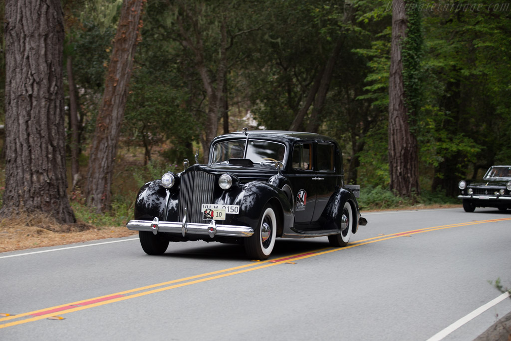 Packard 1607 Twelve Club Sedan  - Entrant: Jean & Donald Ghareeb  - 2016 Pebble Beach Concours d'Elegance