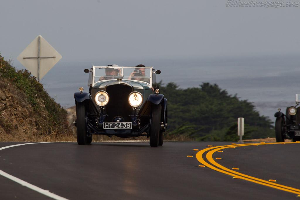 Bentley Speed Six Vanden Plas Tourer  - Entrant: Ivor Dunbar  - 2017 Pebble Beach Concours d'Elegance