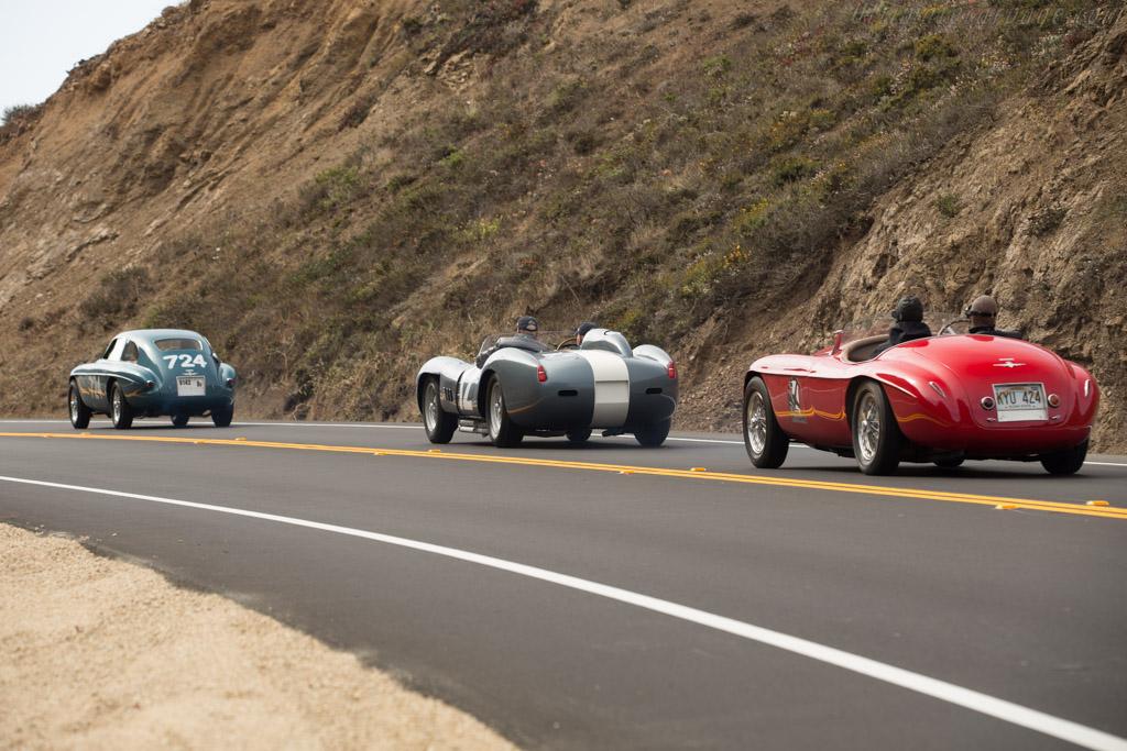 Ferrari 335 S - Chassis: 0764 - Entrant: Andreas Mohringer  - 2017 Pebble Beach Concours d'Elegance