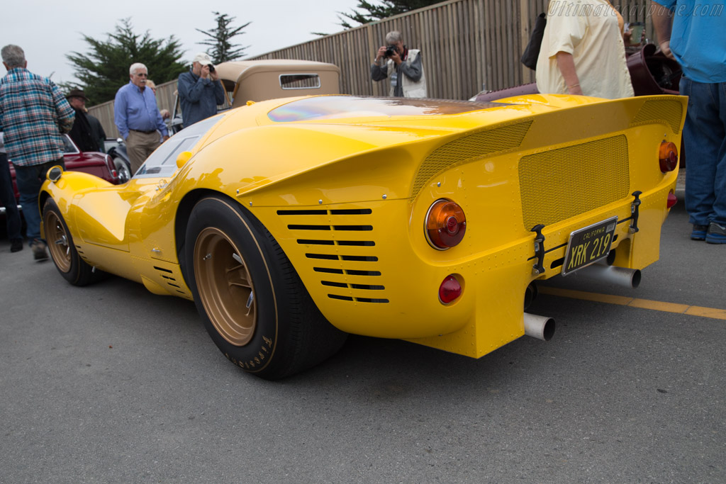 Ferrari 412 P - Chassis: 0850 - Entrant: Harry Yeaggy  - 2017 Pebble Beach Concours d'Elegance