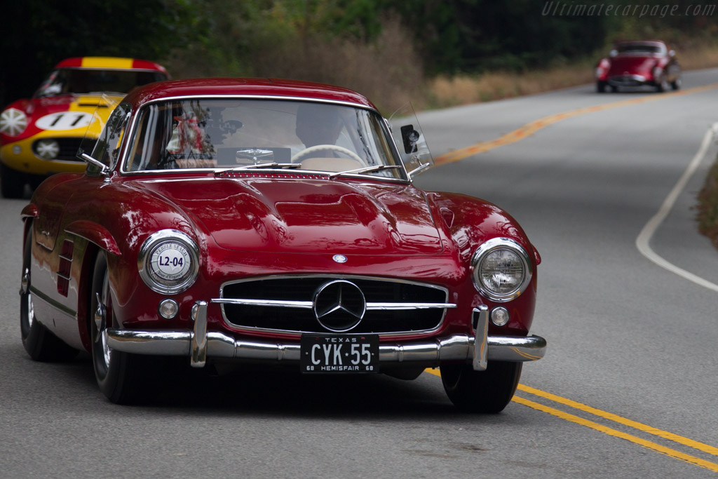Mercedes-Benz 300 SL Gullwing - Chassis: 198.040.4500120 - Entrant: Bruce & Julie Goldsmith  - 2017 Pebble Beach Concours d'Elegance