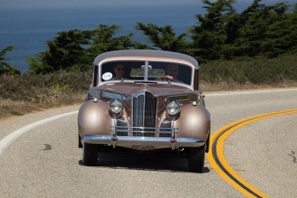 Packard 1807 Custom Super Eight Rollson Sport Sedan  - Entrant: Michelle & Martin Cousineau  - 2017 Pebble Beach Concours d'Elegance