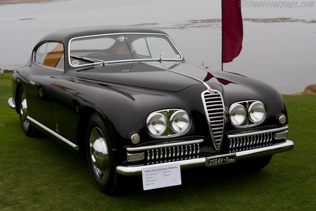 Alfa Romeo 6C 2500 SS Pininfarina Coupe - Chassis: 915769   - 2010 Pebble Beach Concours d'Elegance