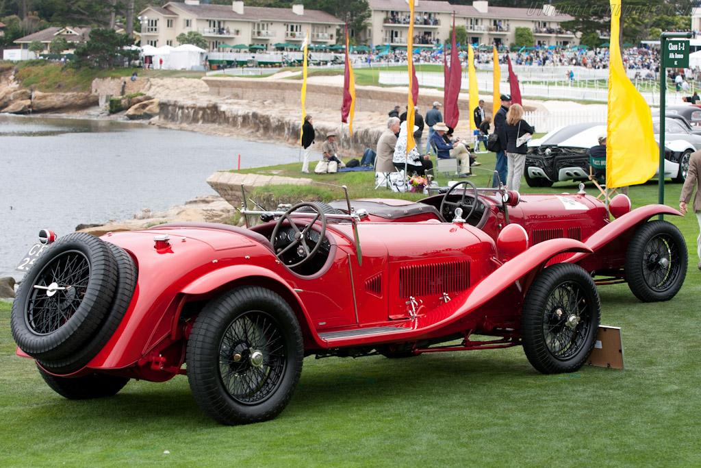 Alfa Romeo 8C 2300 Zagato Spider - Chassis: 2111007   - 2010 Pebble Beach Concours d'Elegance