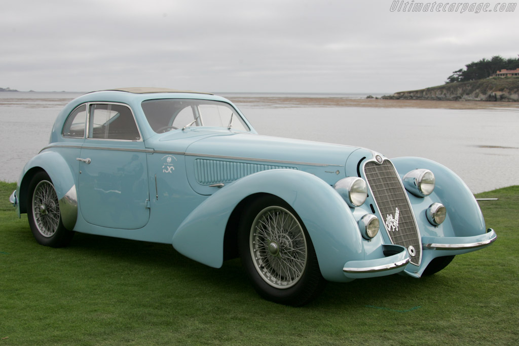 Alfa Romeo 8C 2900B Touring Berlinetta - Chassis: 412029   - 2010 Pebble Beach Concours d'Elegance