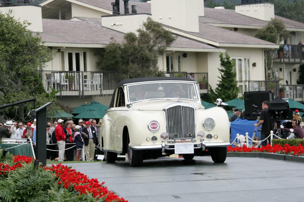Bentley Mark VI Worblaufen DHC   - 2010 Pebble Beach Concours d'Elegance