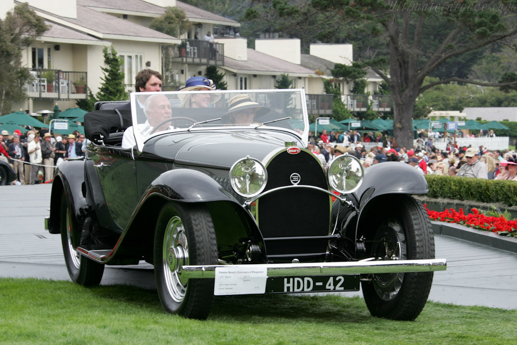 Bugatti Type 50 Roadster    - 2010 Pebble Beach Concours d'Elegance