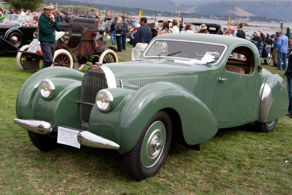 Bugatti Type 57 C Vanvooren Coupe - Chassis: 57835 - Entrant: Peter & Merle Mullin  - 2010 Pebble Beach Concours d'Elegance