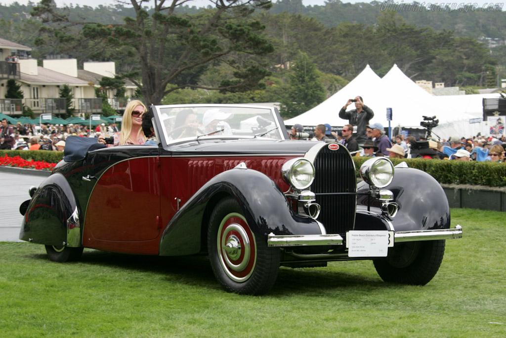 Bugatti Type 57 Graber Cabriolet    - 2010 Pebble Beach Concours d'Elegance