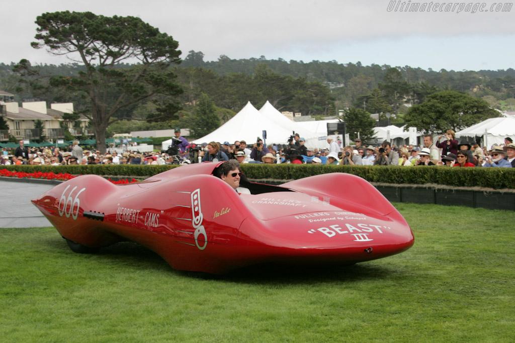 Chet Herbert 'Beast III' Streamliner    - 2010 Pebble Beach Concours d'Elegance