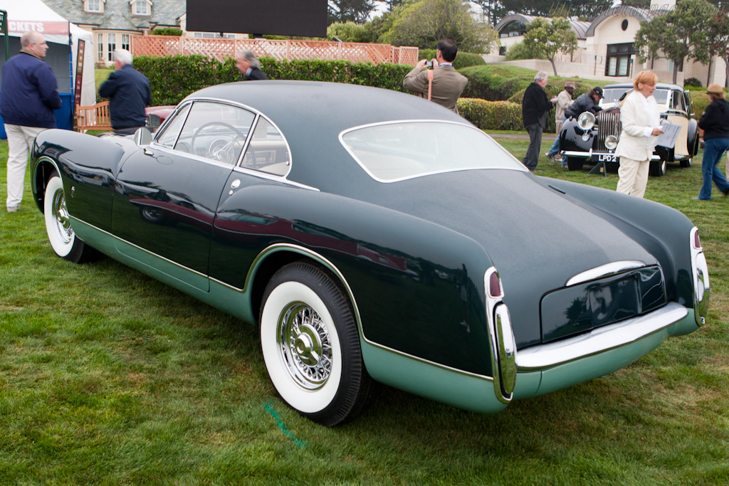 Chrysler Ghia SWB Prototype   - 2010 Pebble Beach Concours d'Elegance