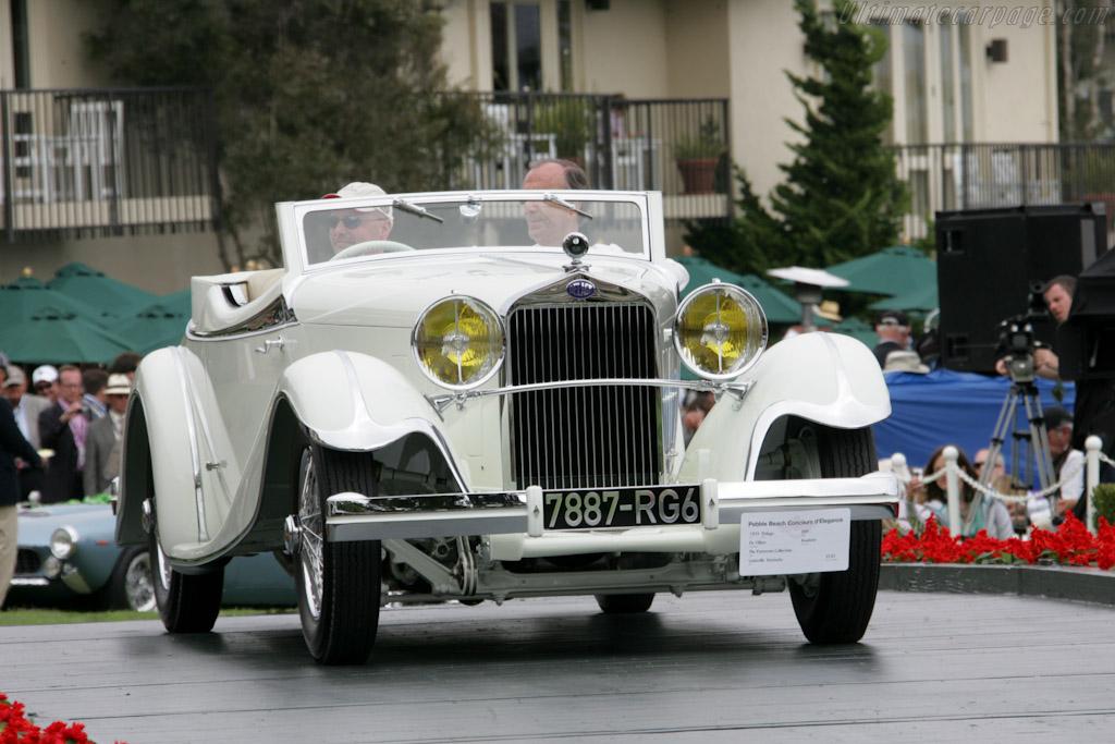Delage D8 S de Villars Roadster    - 2010 Pebble Beach Concours d'Elegance
