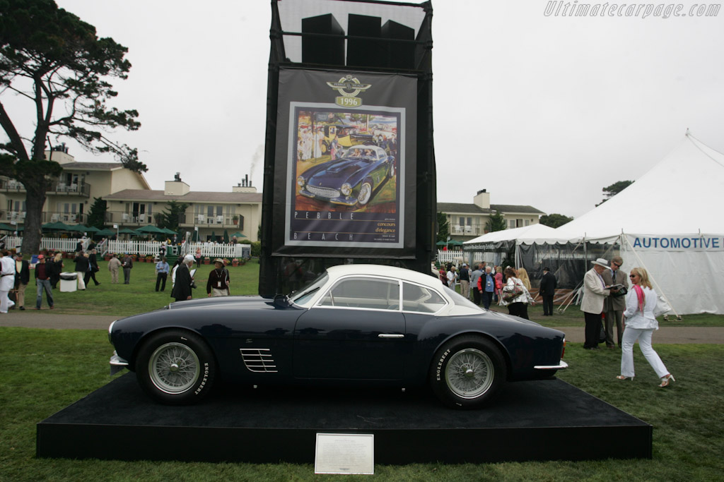 Ferrari 250 GT Zagato Coupe poster car - Chassis: 0515GT   - 2010 Pebble Beach Concours d'Elegance