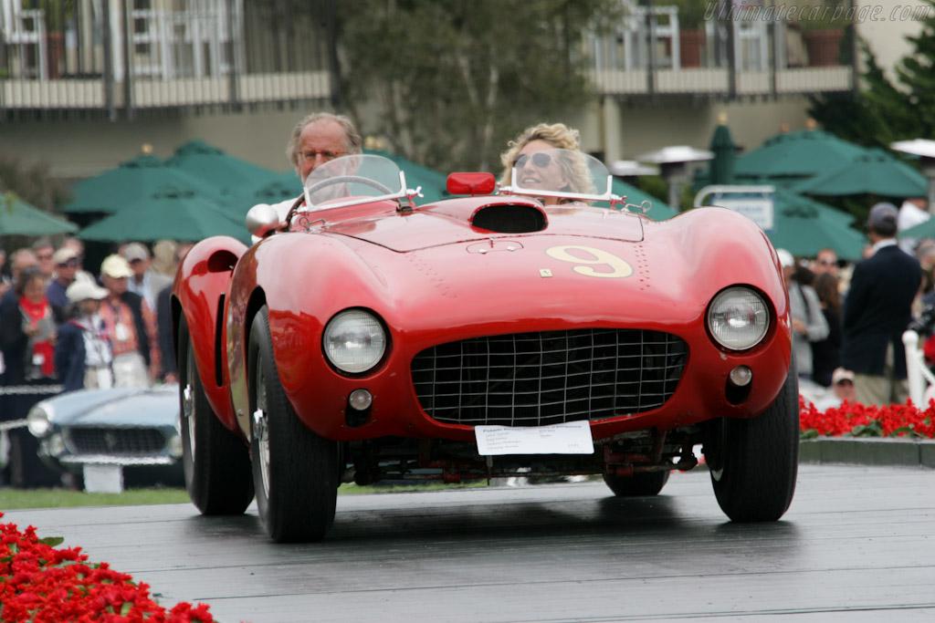 Ferrari 375 MM - Chassis: 0382AM - Entrant: Andreas Mohringer  - 2010 Pebble Beach Concours d'Elegance