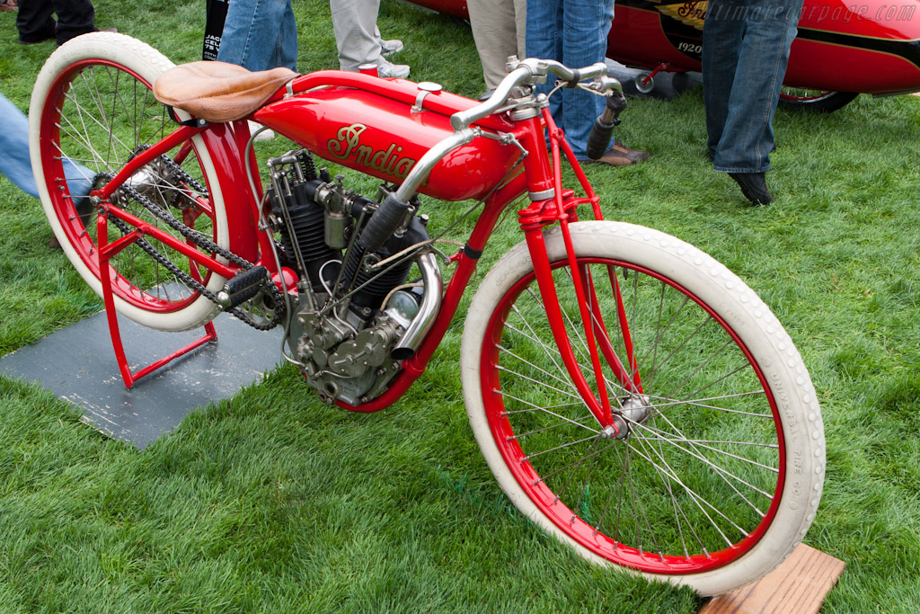 Indian 8-Valve Board Track Racer    - 2010 Pebble Beach Concours d'Elegance