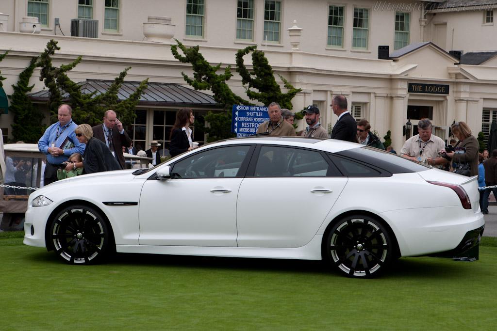 Jaguar XJ75 Platinum Concept    - 2010 Pebble Beach Concours d'Elegance