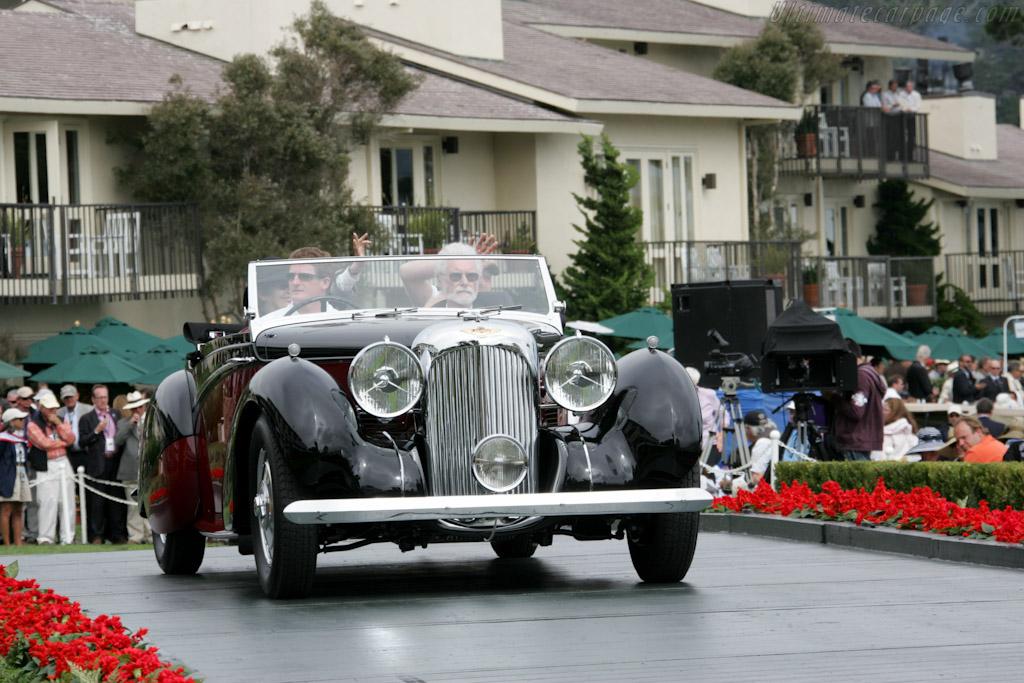 Lagonda V12 Rapide Drophead Coupe - Chassis: 14082 - Entrant: Bill & Liz Holt  - 2010 Pebble Beach Concours d'Elegance